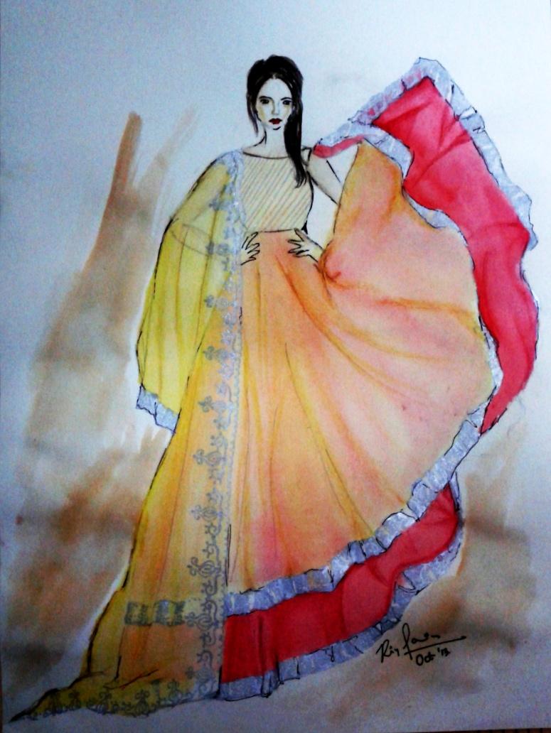 Fashion Illustration #1