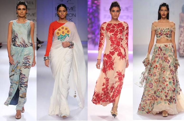 L-R : Zara Sharjahan, Yogesh Chaudhry, Varun Bahl, Shehla Khan