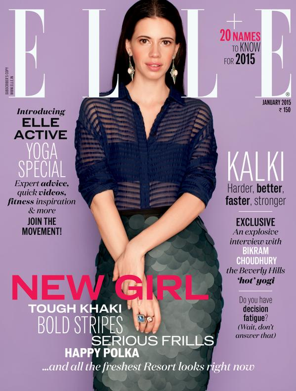 KALKI KOECHLIN - ELLE INDIA
