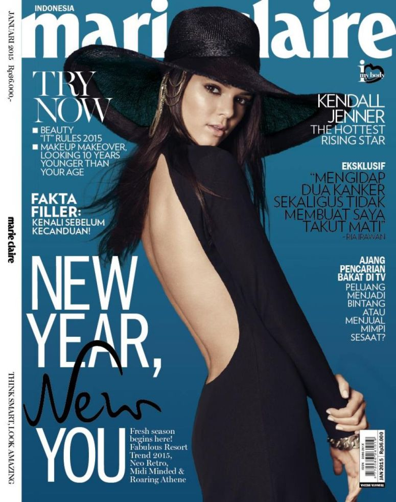 KENDELL JENNER - MARIE CLAIRE INDONESIA